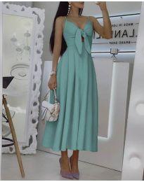 Šaty - kód 2239 - tyrkysový