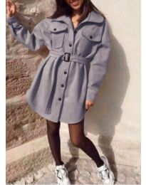 Šaty - kód 0707 - šedá