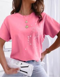 Tričko - kód 0401 - růžová