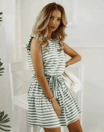 Šaty - kód 7211 - olivově zelená