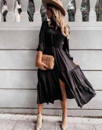 Šaty - kód 6522 - černá