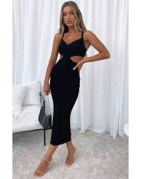 Šaty - kód 111938 - černá