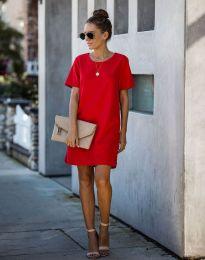 Šaty - kód 4408 - červená