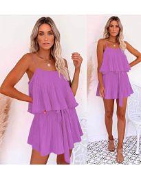 Šaty - kód 721 - fialové