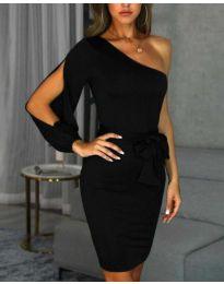 Šaty - kód 0579 - 3 - černá