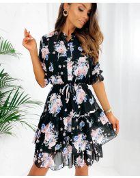 Šaty - kód 8877 - 2 - vícebarevné