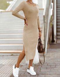 Šaty - kód 2326 - bežová