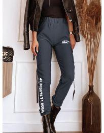 Kalhoty - kód 1142 - šedá