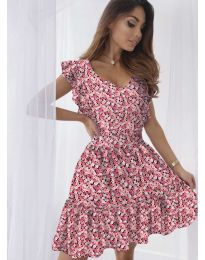 Šaty - kód 6088 - coral