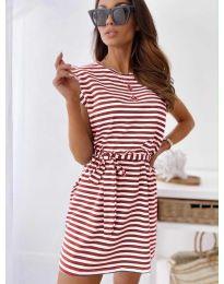 Šaty - kód 6634 - červená