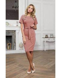 Šaty - kód 3698 - pudrová