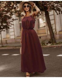 Šaty - kód 3323 - bordeaux