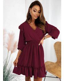 Šaty - kód 8554 - bordeaux