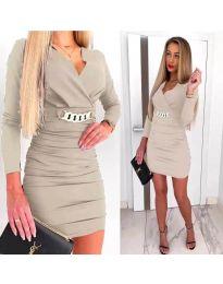 Šaty - kód 8999 - bežová