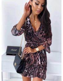 Šaty - kód 7677 - 1 - vícebarevné