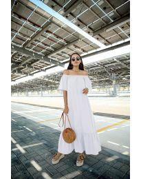 Šaty - kód 3636 - bíla