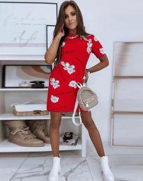Šaty - kód 2906 - červená