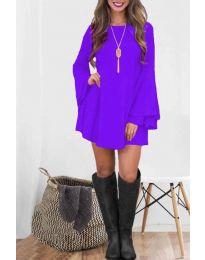 Šaty - kód 8102 - fialová