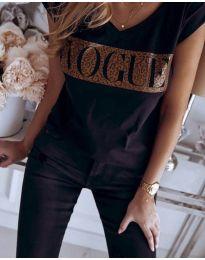 Tričko - kód 2621 - černá