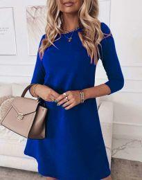 Šaty - kód 8201 - modrá