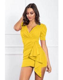 Šaty - kód 386 - žlutá