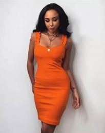 Šaty - kód 0229 - oranžová