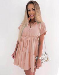 Šaty - kód 8889 - růžova