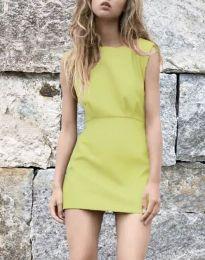 Šaty - kód 1233 - hořčičná