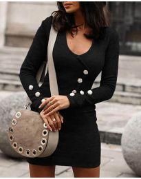 Šaty - kód 3535 - černá