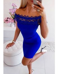 Šaty - kód 3105 - modrý