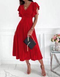 Šaty - kód 1557 - červená