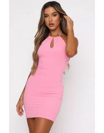 Šaty - kód 11936 - růžová