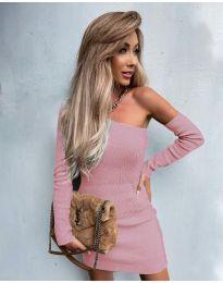 Šaty - kód 4933 - růžova