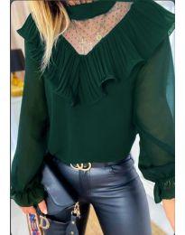 Košile - kód 013 - zelená
