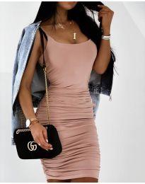 Šaty - kód 603 - pudrová