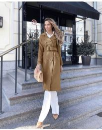 Kabát - kód 213 - hněda