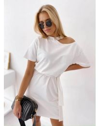 Šaty - kód 022 - bíla