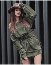 Šaty - kód 8989 - zelená