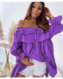 Šaty - kód 9865 - fialová