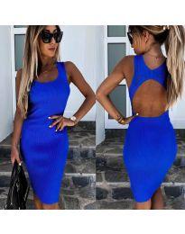 Šaty - kód 692 - modrá