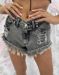 Krátké kalhoty - kód 4548 - 1 - šedá