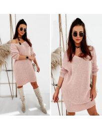 Šaty - kód 6457 - růžová