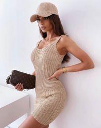 Šaty - kód 10088 - cappuccino
