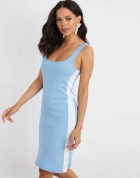 Šaty - kód 1253 - světle modrá