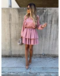 Šaty - kód 7723 - růžová