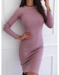 Šaty - kód 3524 - pudrová