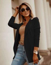 Дамско сако в цвят черно - код 2365