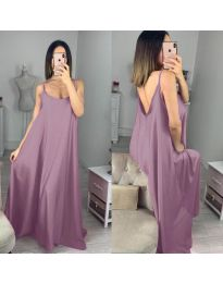 Šaty - kód 6600 - fialová