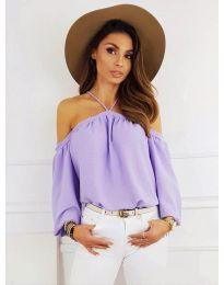 Dámské tričko fialové barvy - kód 6561