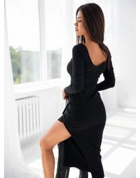 Šaty - kód 12070 - černá